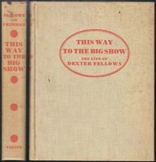 1936 This Way To The Big Show
