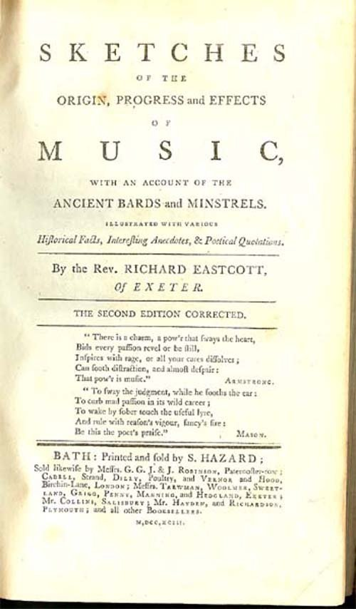 The Origin, Progress And Effects Of Music,