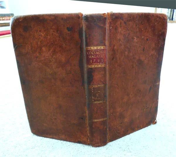 1792 Universal Asylum And Columbian Magazine