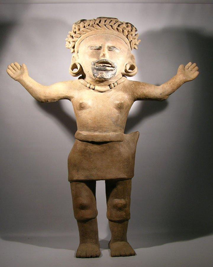 Pre Columbian Vera Cruz Large Figure