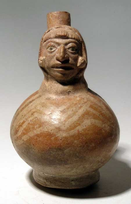 Moche IV Figural Bottle