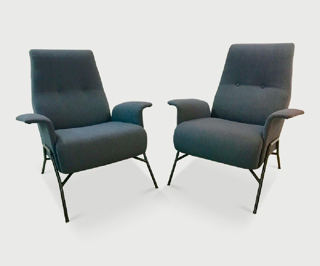 Pair of Italian Armchairs.