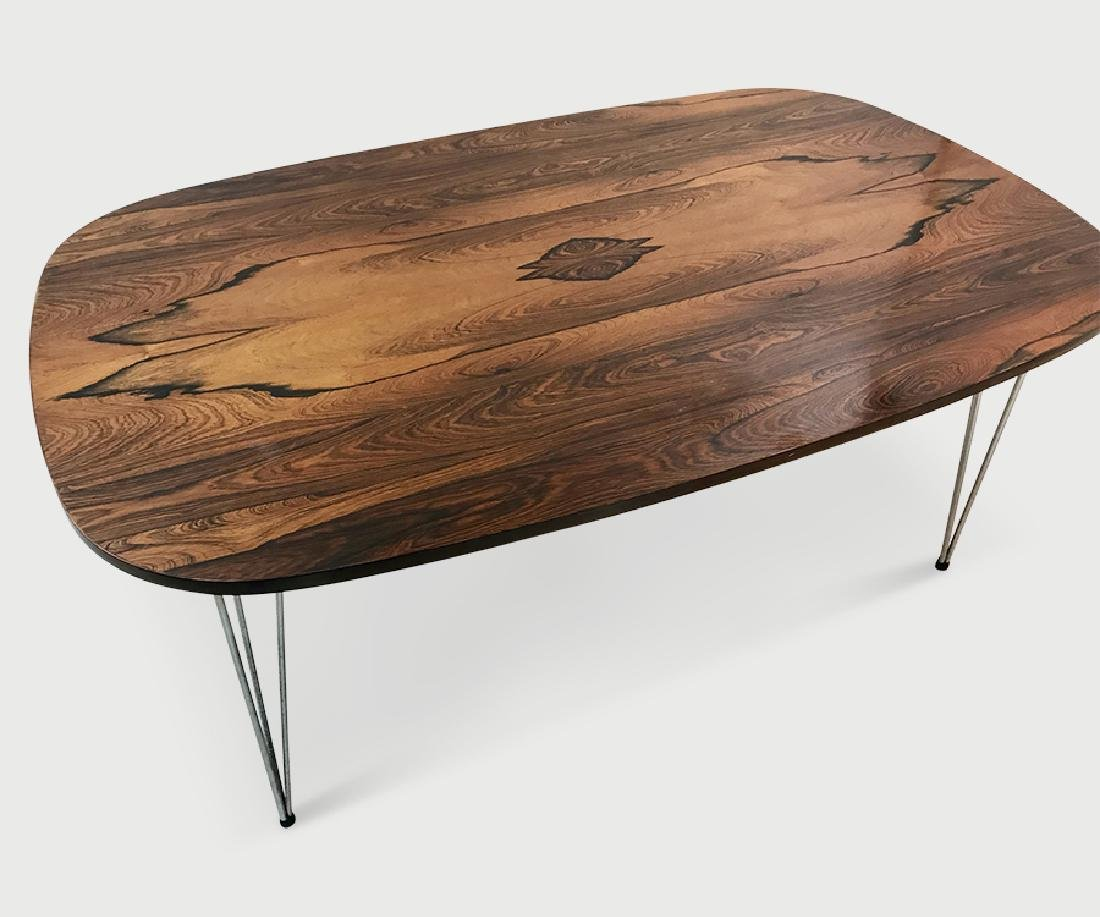 Piet Hein Rosewood Table.