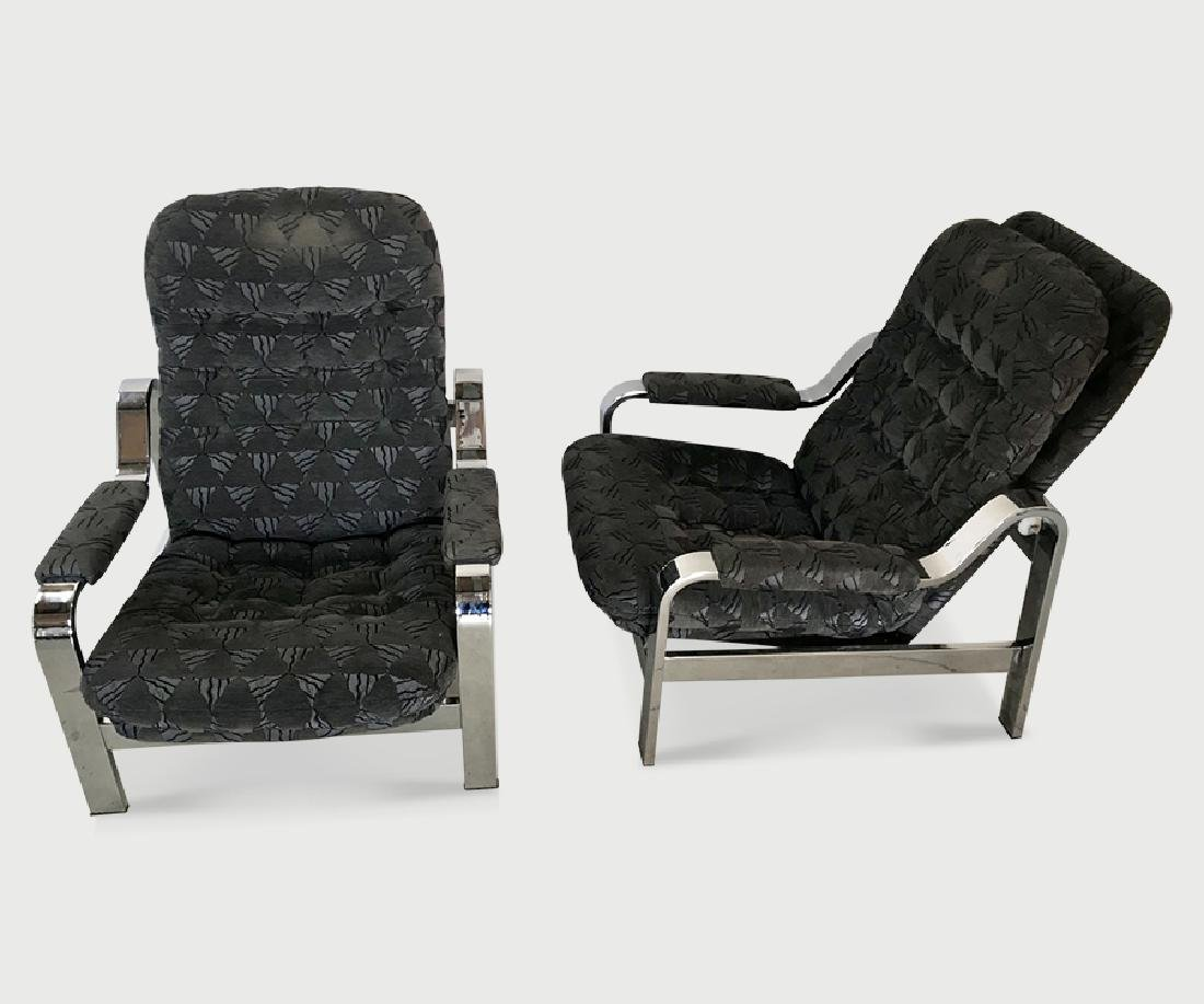 Pair Knoll Chairs