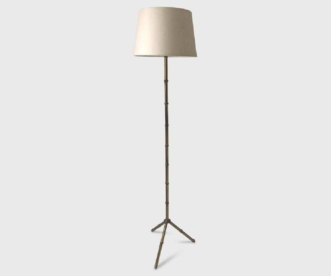 Adnet floor lamp