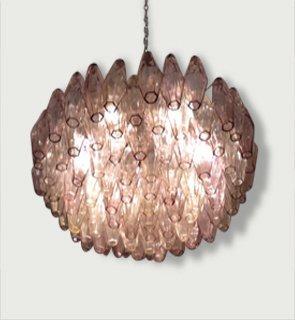 Polyhedral chandelier