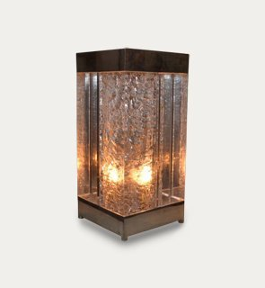 Perspex table light
