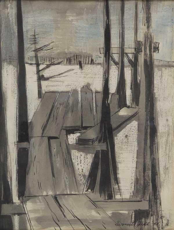 9: DeForrest Judd (Am. 1916-1993)