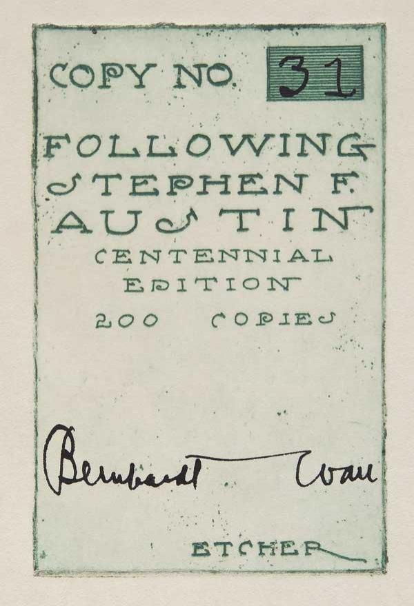 15: Book: Following Stephen F. Austin