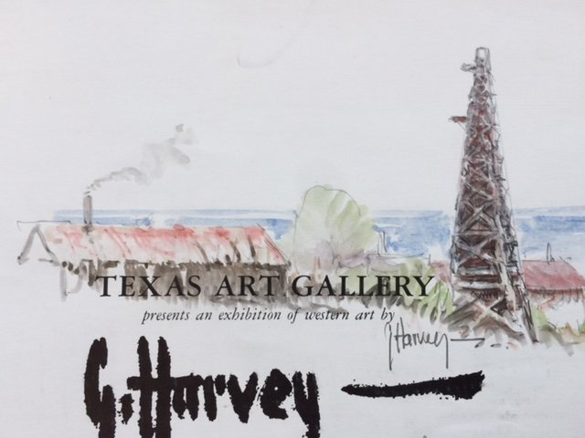 Gerald Harvey (Am. 1933-2017), Painting Catalogue, - 2