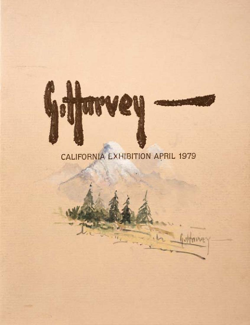 Gerald Harvey (Am. 1933-2017), Painting Catalogue, Burt