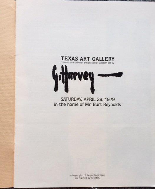 Gerald Harvey (Am. 1933-2017), Painting Catalogue, Burt - 3