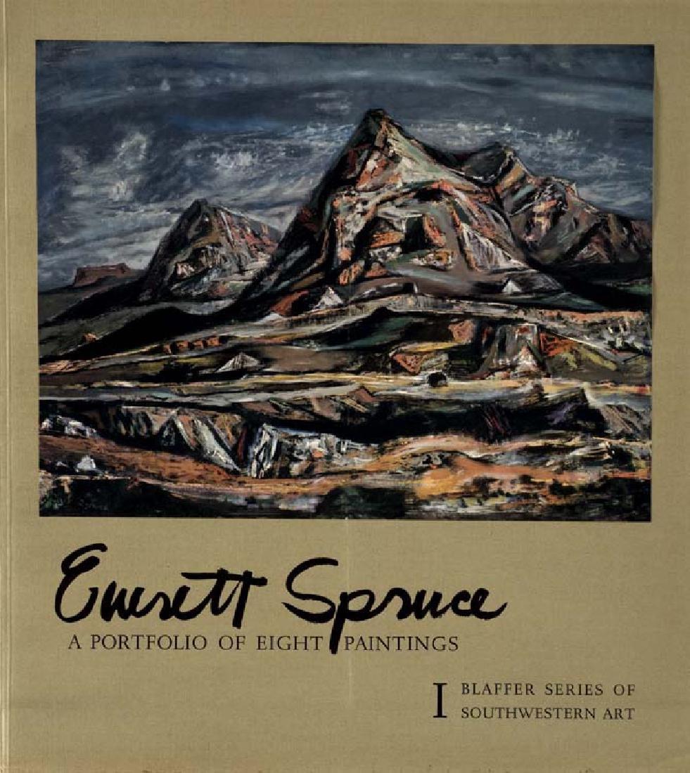 Everett Spruce (Am. 1908-2002), A Portfolio of 8