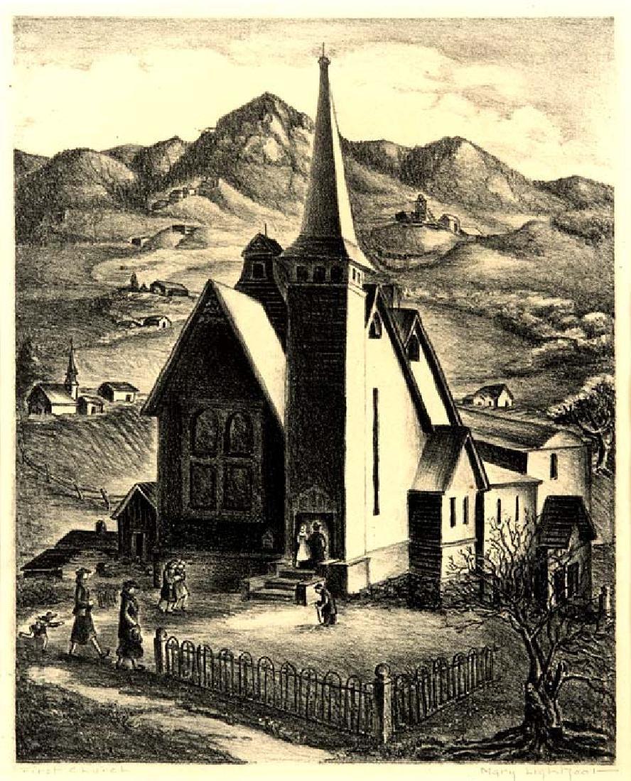 Mary Lightfoot (Am. 1889-1970), First Church,