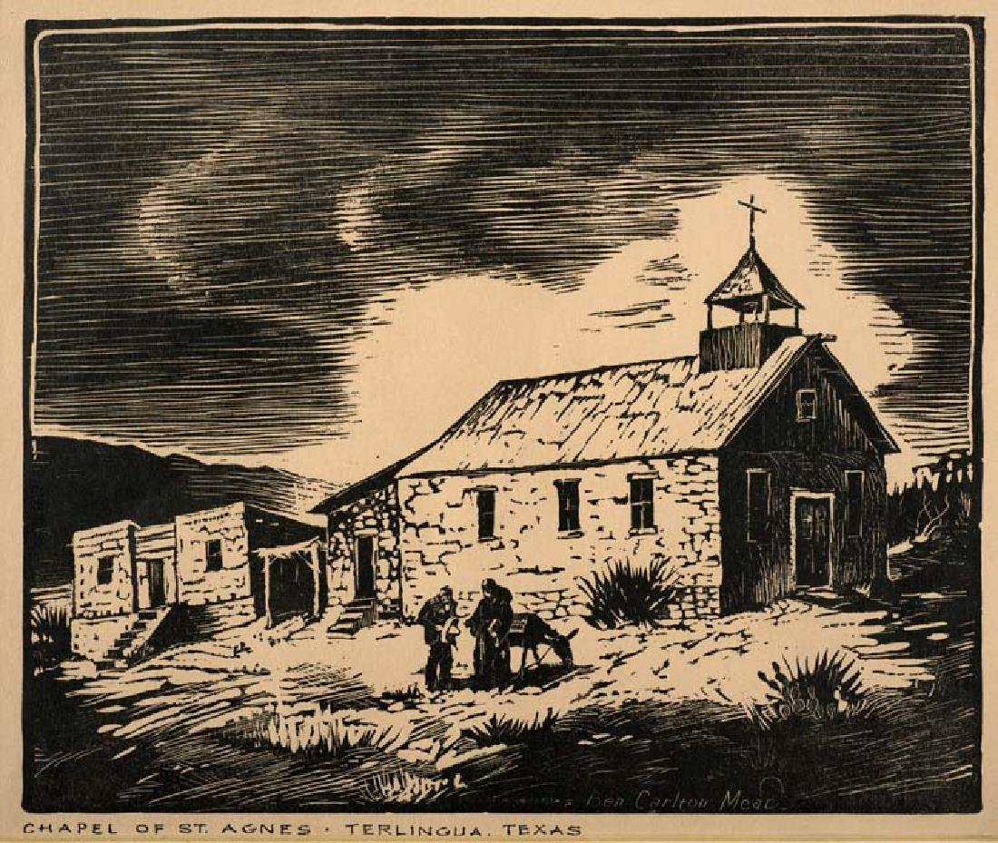Ben Carlton Mead (Am. 1902-1986), Chapel of St. Agnes,