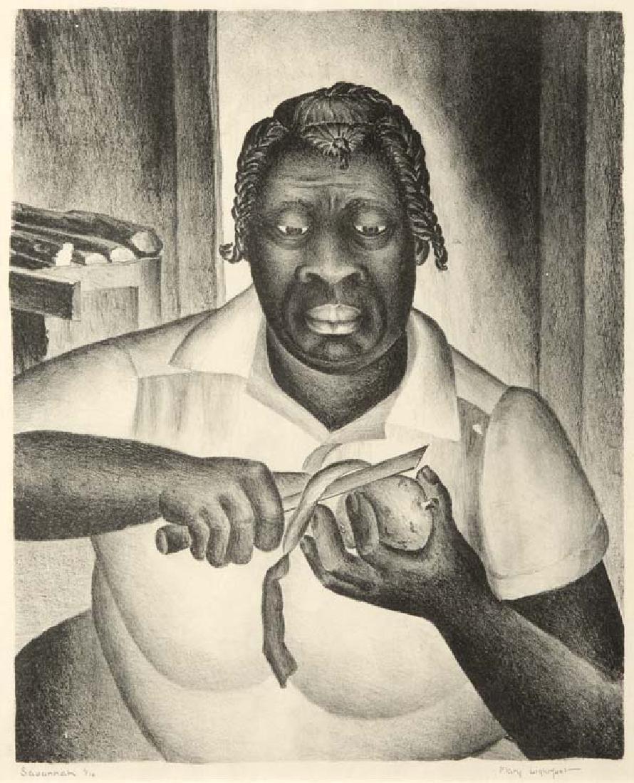Mary Lightfoot (Am. 1889-1970), Savannah, Edition 1/10,