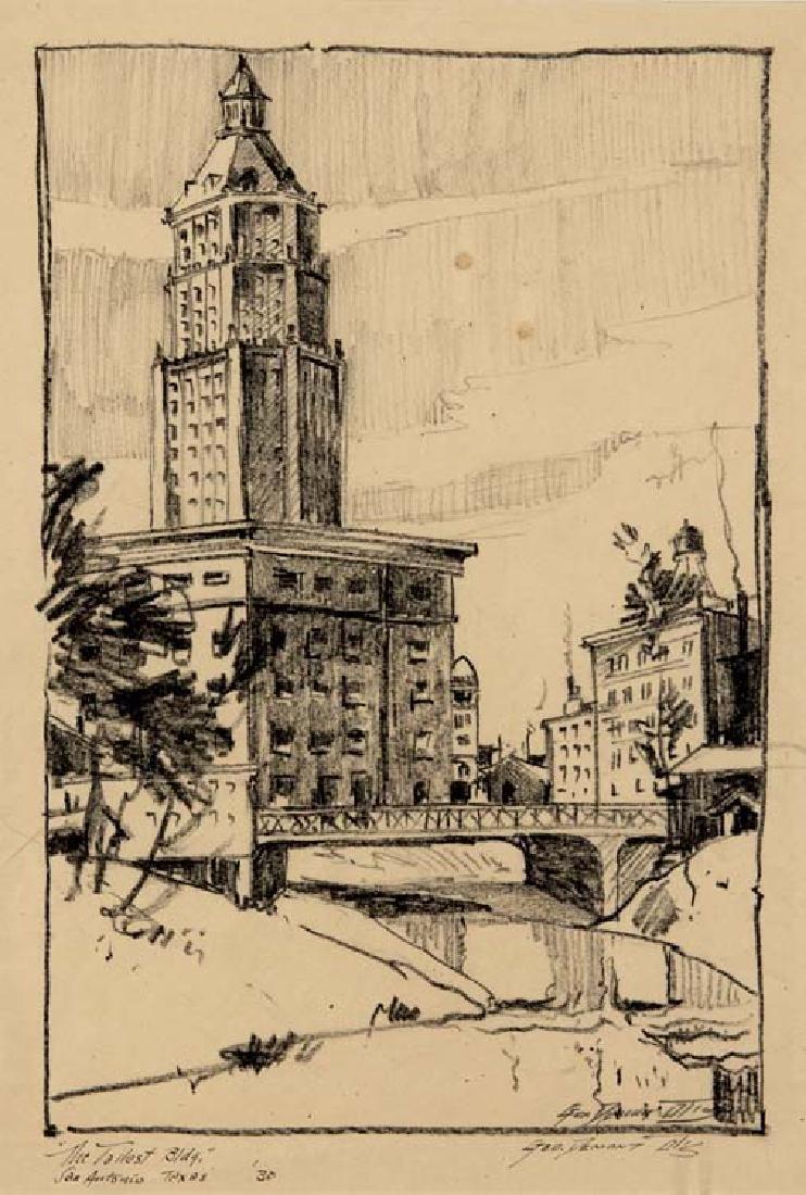 George Demont Otis (Am. 1879-1962), Tallest Building