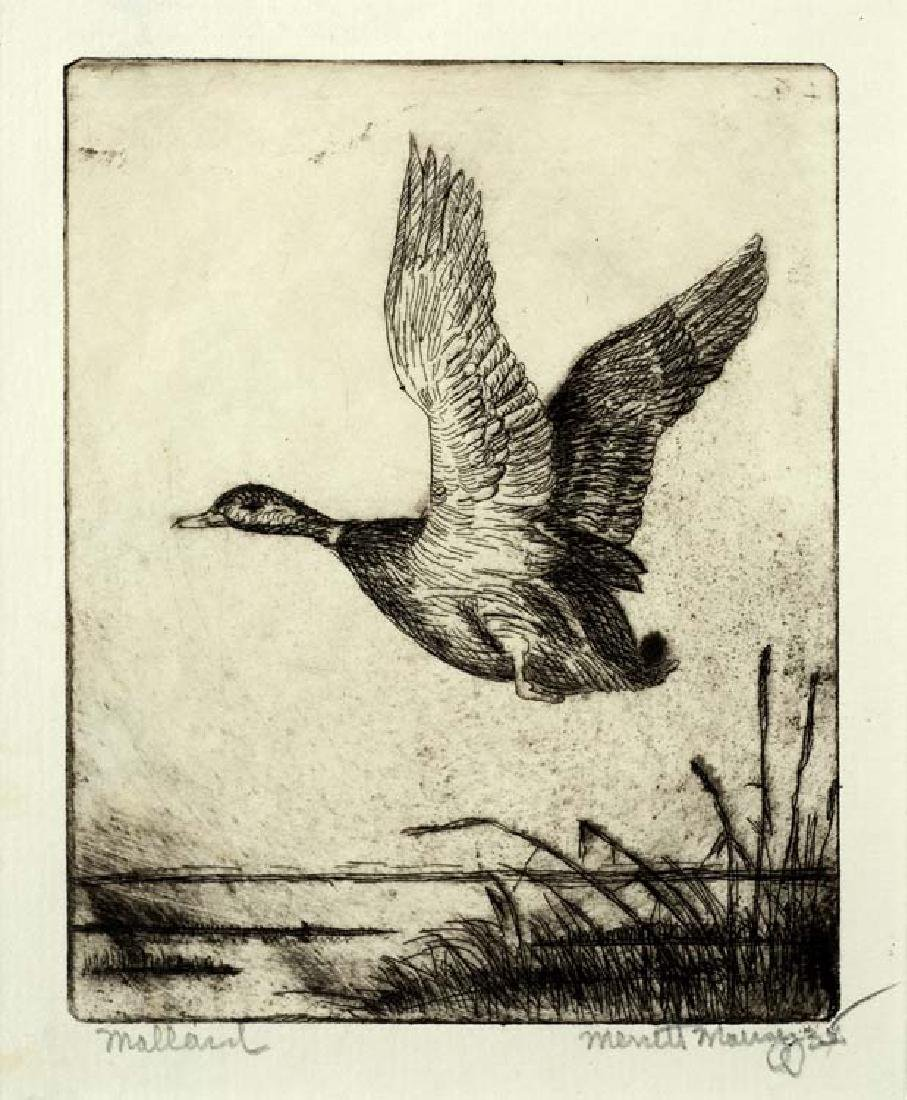 Merritt  Mauzey (Am. 1897-1973), Mallards, 1935,