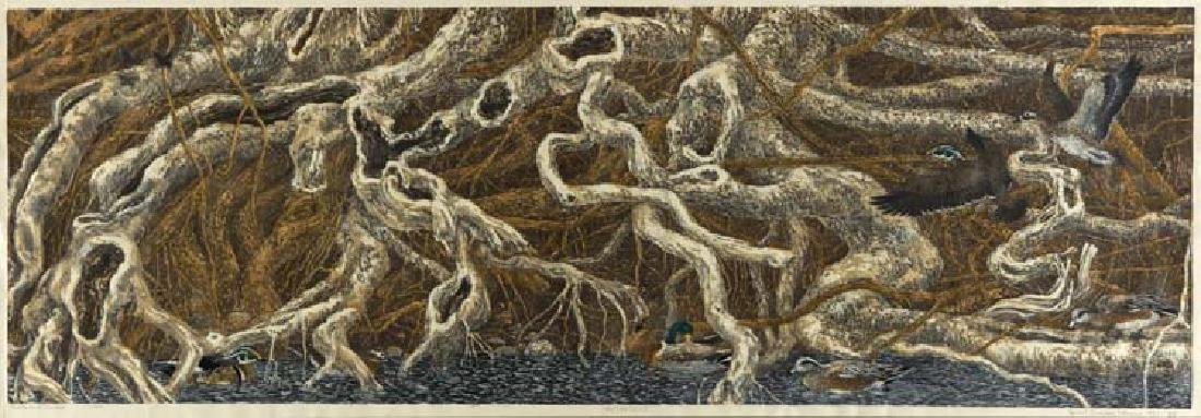 Janet Turner (Am. 1914-1988), Roots & Ducks, 161/185