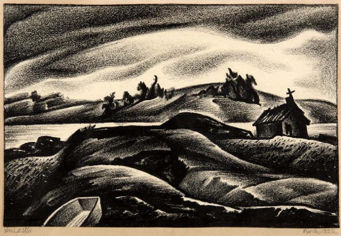 William Lester (Am. 1910-1991), March, 1932,