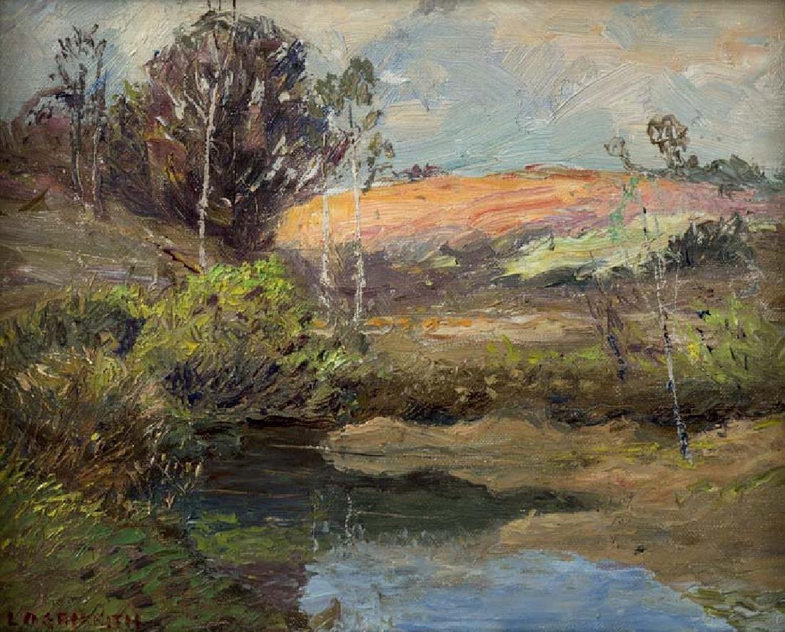 Louis Oscar Griffith (Am. 1875-1956), Landscape , oil