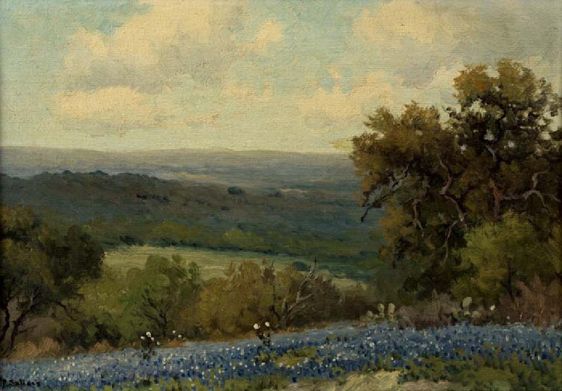 Porfirio Salinas (Am. 1910-1973), Bluebonnets, c. 1940,