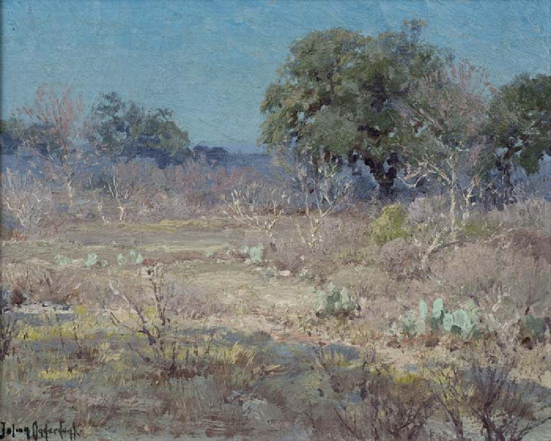 Julian Onderdonk (Am. 1882-1922), The Brush Country in