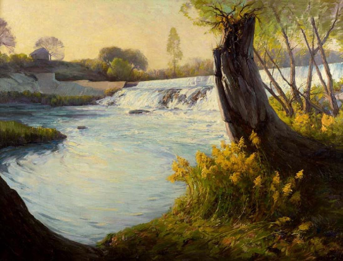 Julian  Onderdonk (Am. 1882-1922), Late Afternoon on