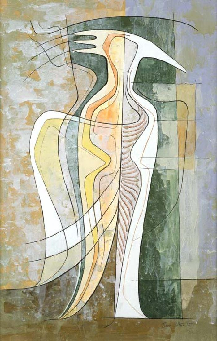 Bror Utter (Am. 1913-1993), Metamorphosis, 1952,