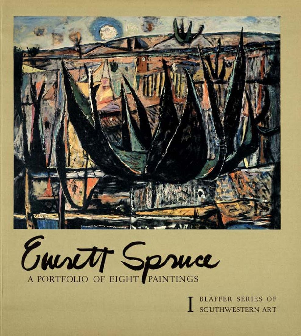 Everett Spruce (Am. 1908-2002),  A Portfolio of Eight