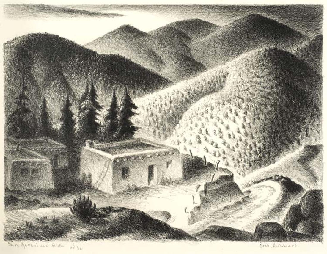 Bess Hubbard (Am. 1896-1977), San Geranimo Hills, Ed 30