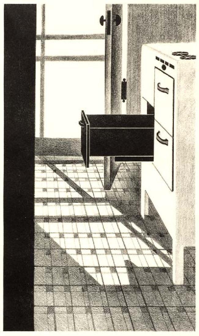 Coreen Spellman (Am. 1905-1978), Sun on the Kitchen