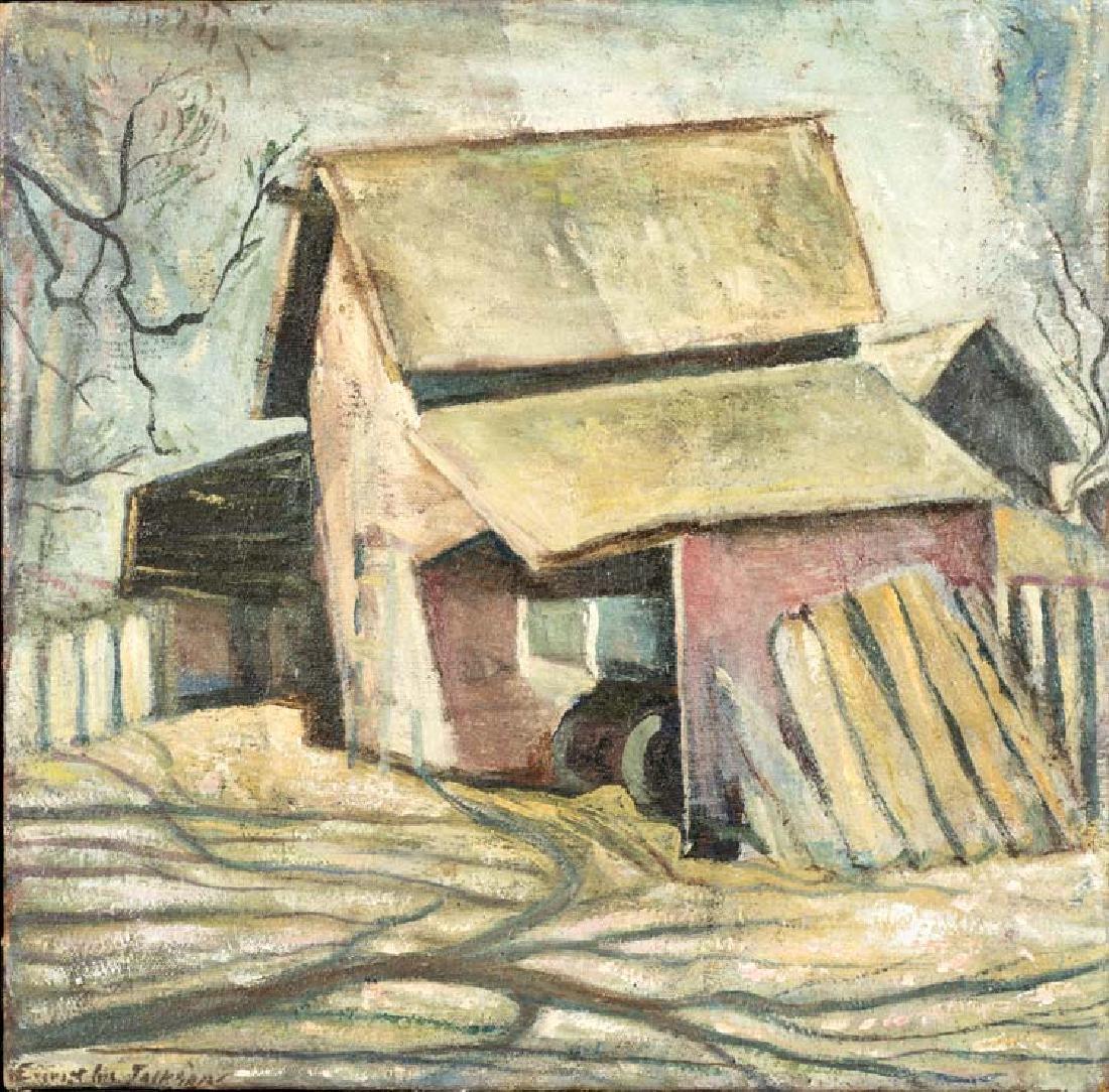 Everett Gee Jackson (Am. 1900-1992) , Jackson Home