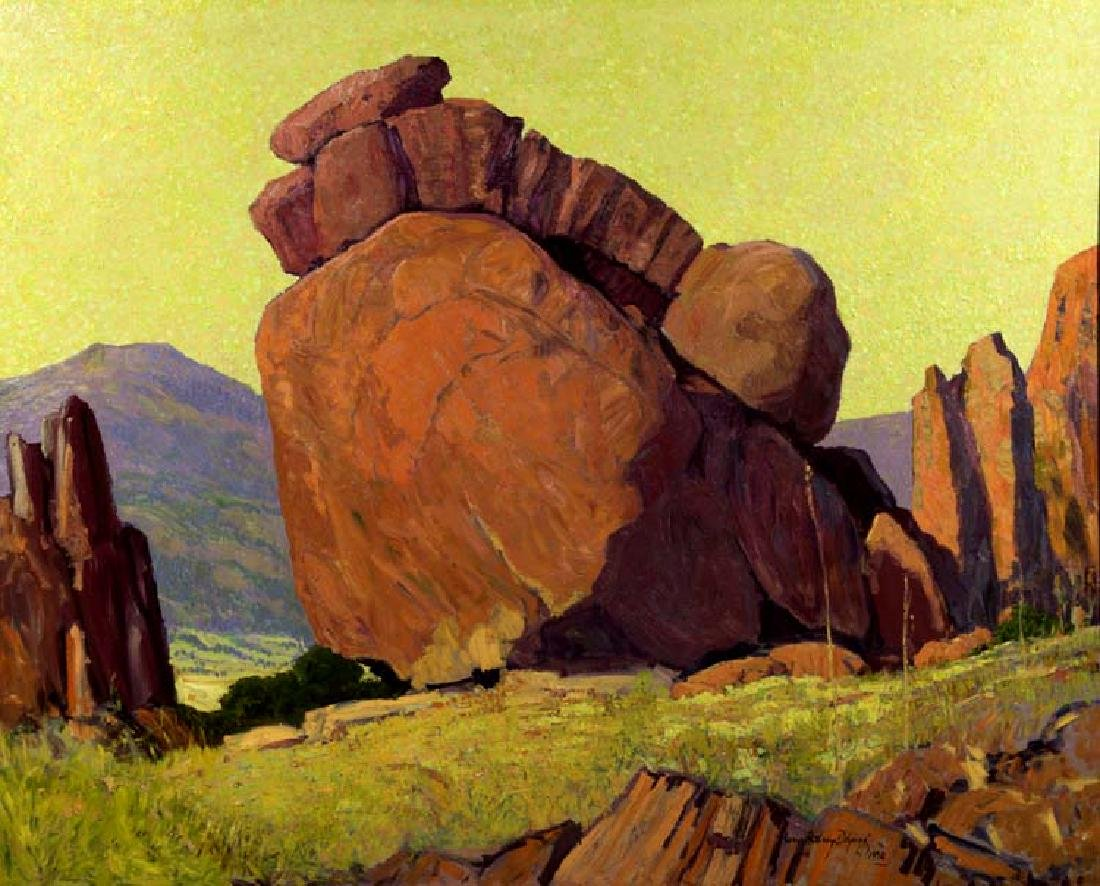 Harry Anthony DeYoung (Am. 1893-1956), Musquiz Canyon,