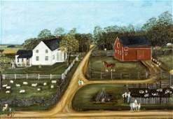Harold Osman Kelly (Am. 1884-1955) , Whetstone Farm,