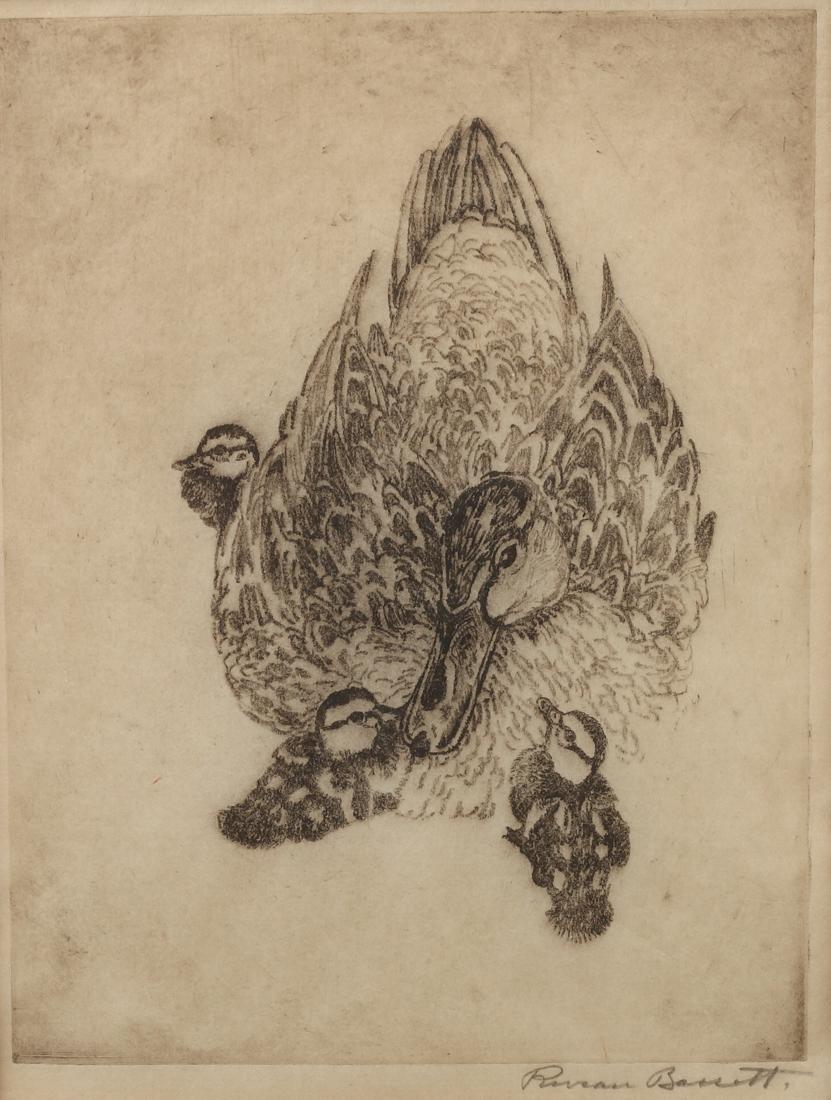 Reveau Bassett (Am. 1897-1981), Mallard Hen &