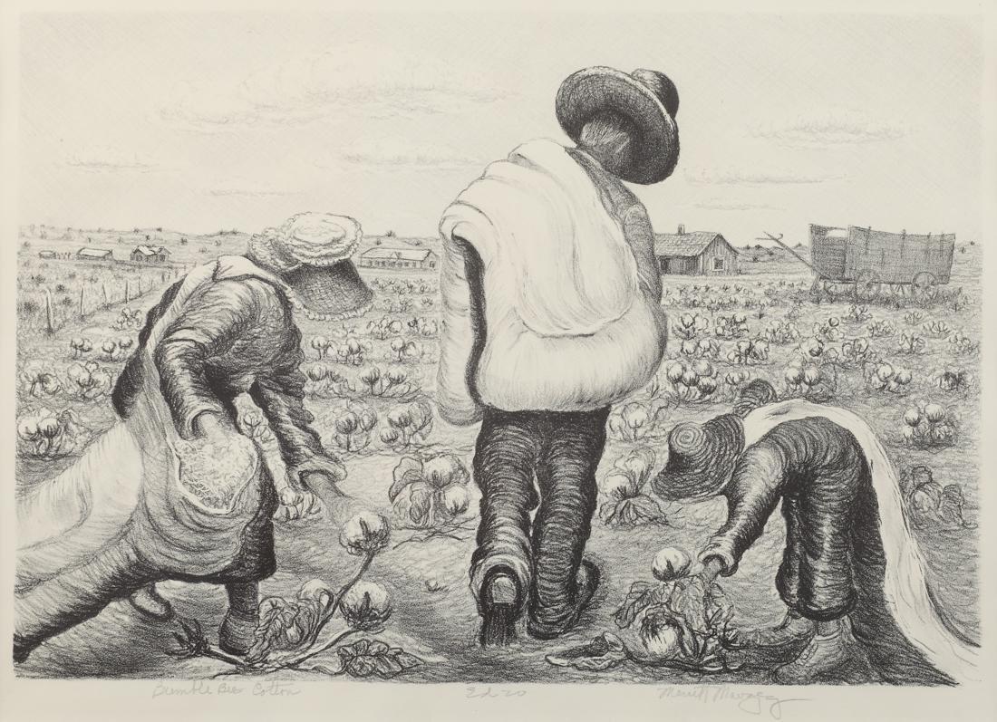 Merritt Mauzey (Am. 1898-1973), Bumble Bee Cotton,