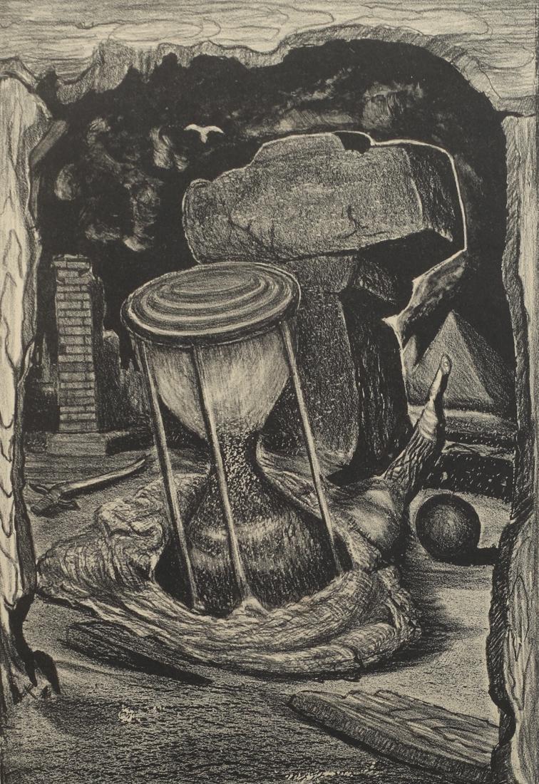 Merritt Mauzey (Am. 1898-1973), Along the Way,