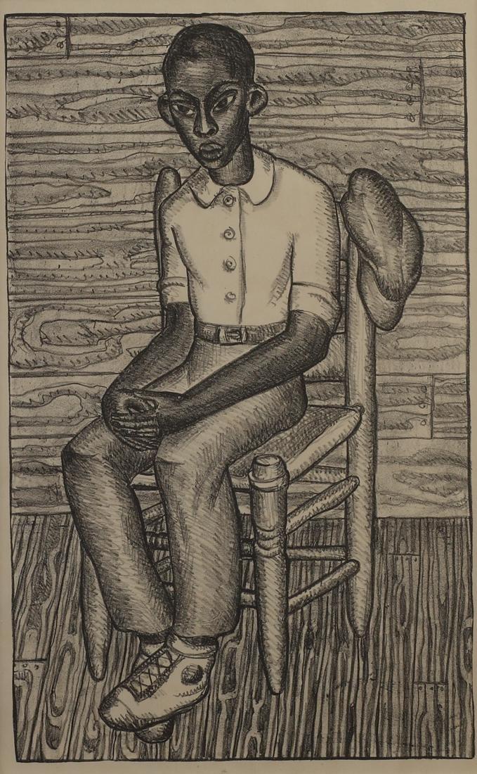 Kathleen Blackshear (Am. 1897-1988), Portrait of