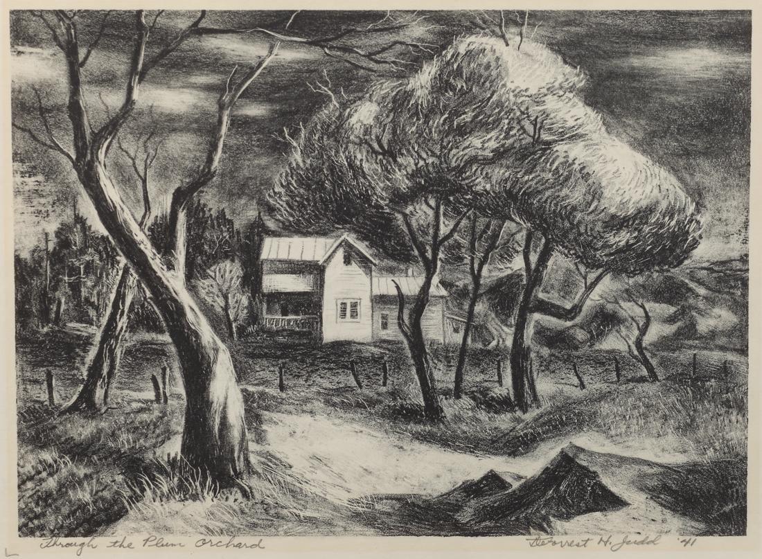 Deforrest Judd (Am. 1916-1993), Through the Plum