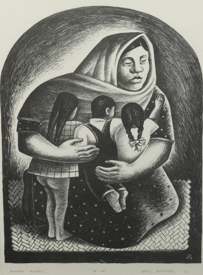 Jerry Bywaters (Am. 1906-1989), Mexican Mother,