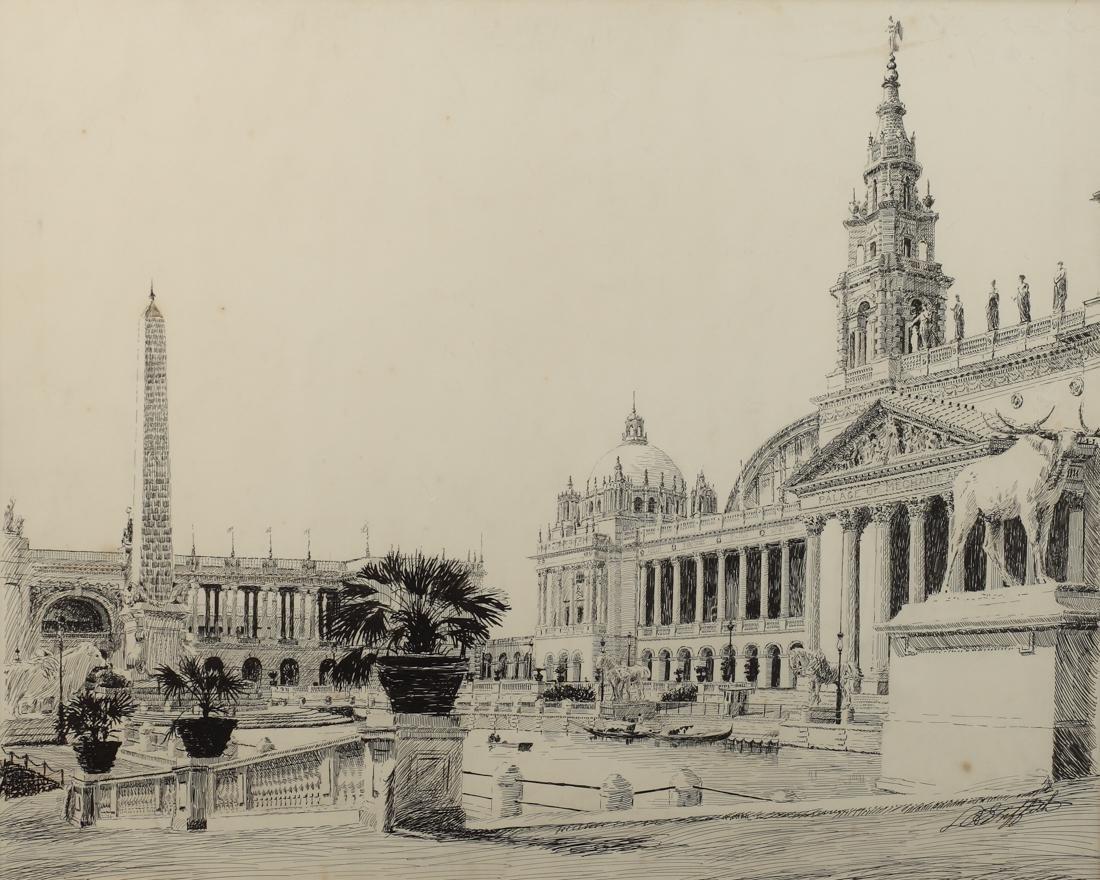 Louis Oscar Griffith (Am. 1857-1956), The Palace of