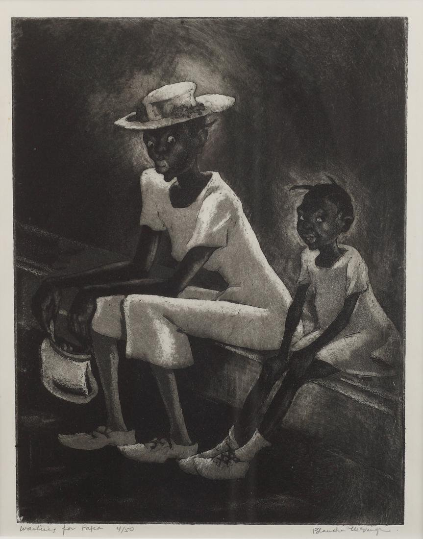 Blanche McVeigh (Am. 1895-1970), Waiting For Papa,