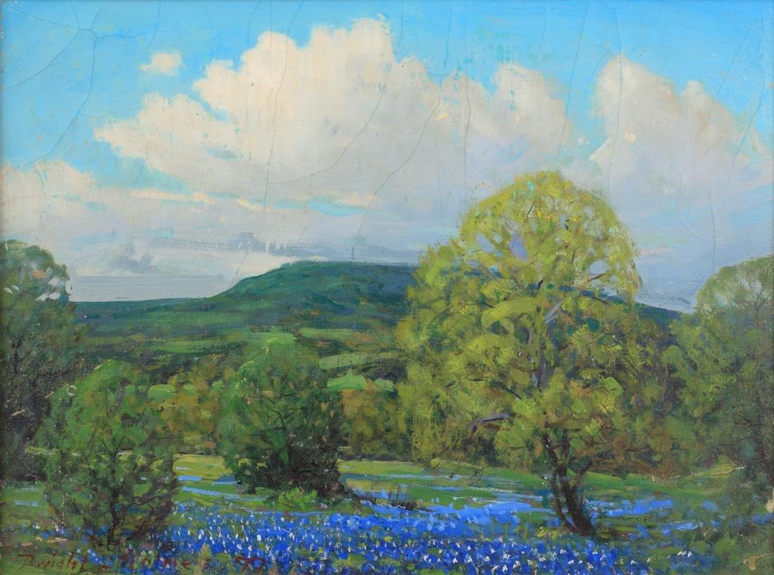 Dwight Clay Holmes (Am. 1900-19860, Bluebonnets, 1976,