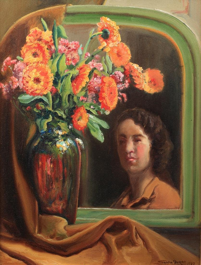 Santa Duran (Am. 1909-2000), Self Portrait with
