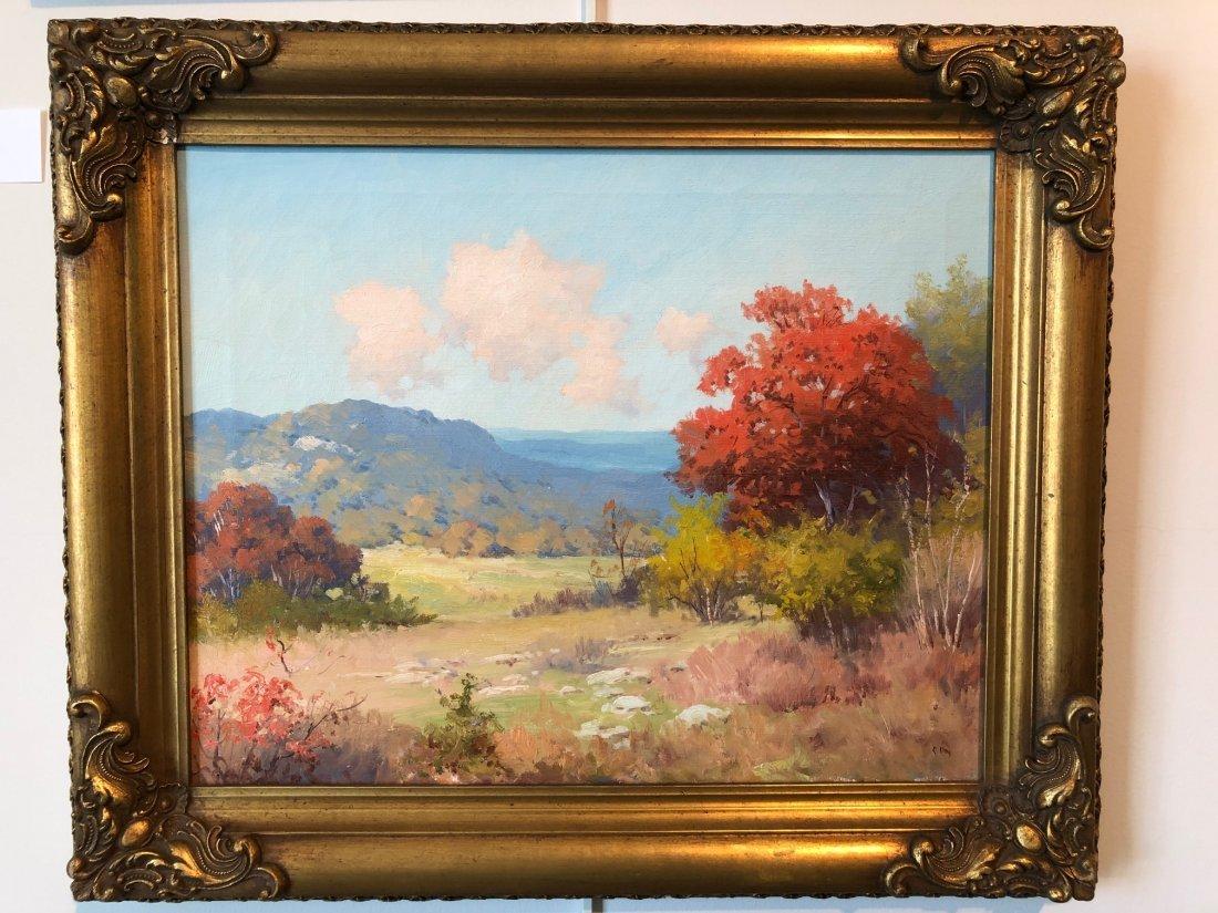 Robert Wood (Am. 1889-1979), Autumn Landscape, oil on - 2
