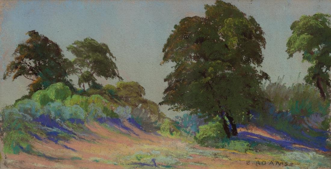 Eleanor Adams (Am. 1909-2007), Untitled, pastel on