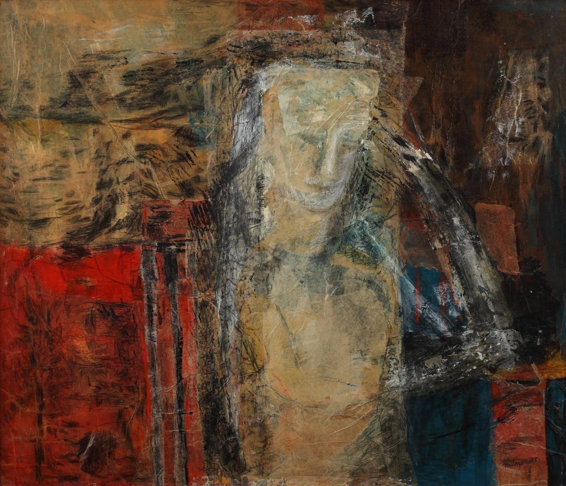Margaret Mellott (Am. 1923-2018), Apparition, 1999,