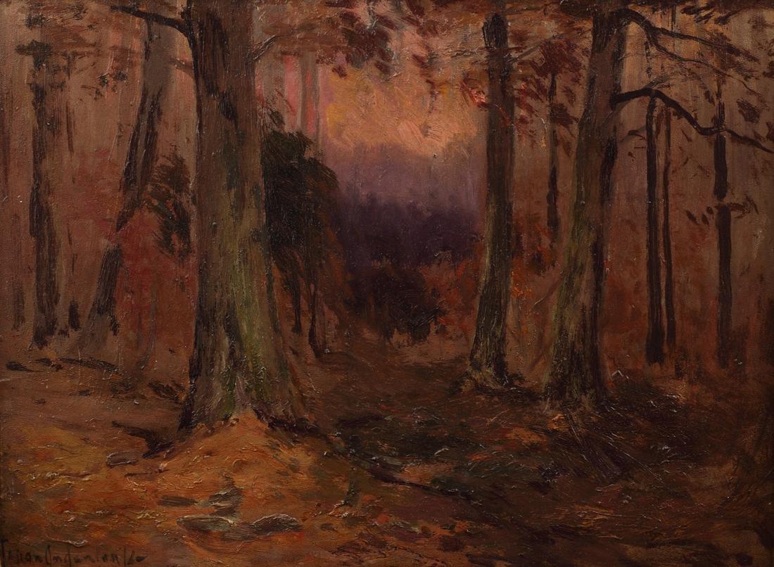 Julian Onderdonk (Am. 1882-1922), Fall, oil on academy