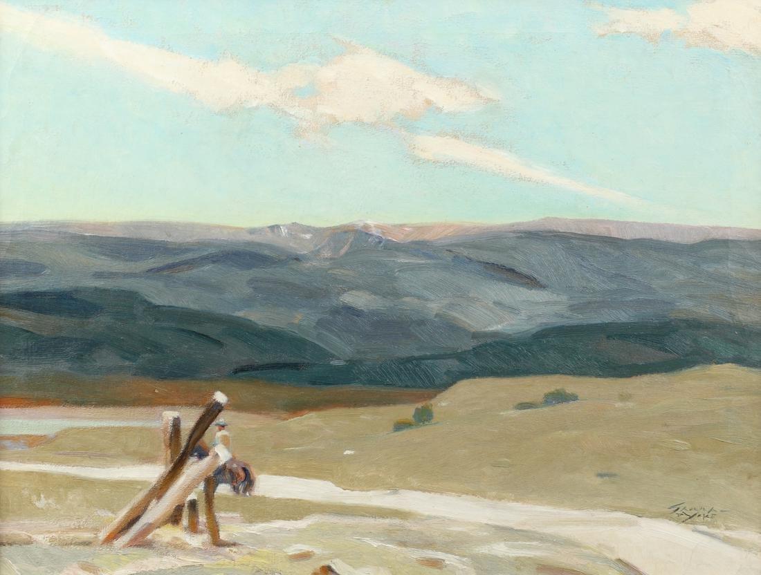Ignatz Sahula-Dycke (Am. 1900-1982), Road to the